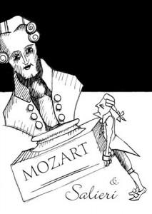 Mozart und Salieri 213x300 100 Plakate