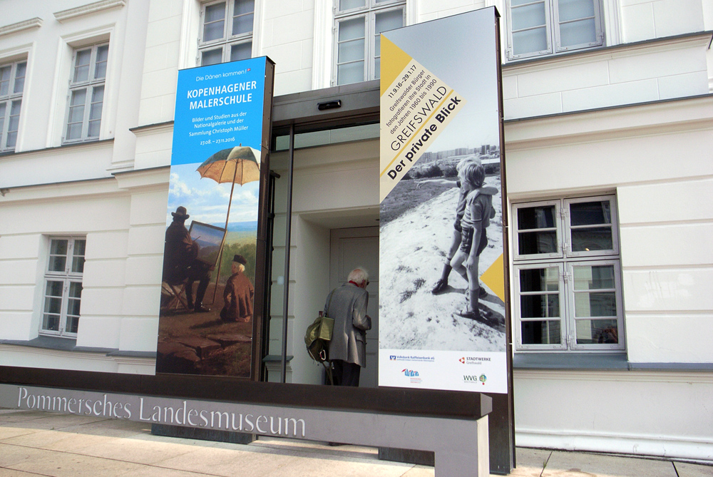 Museum Ausstellung Kopenhagener Malerschule